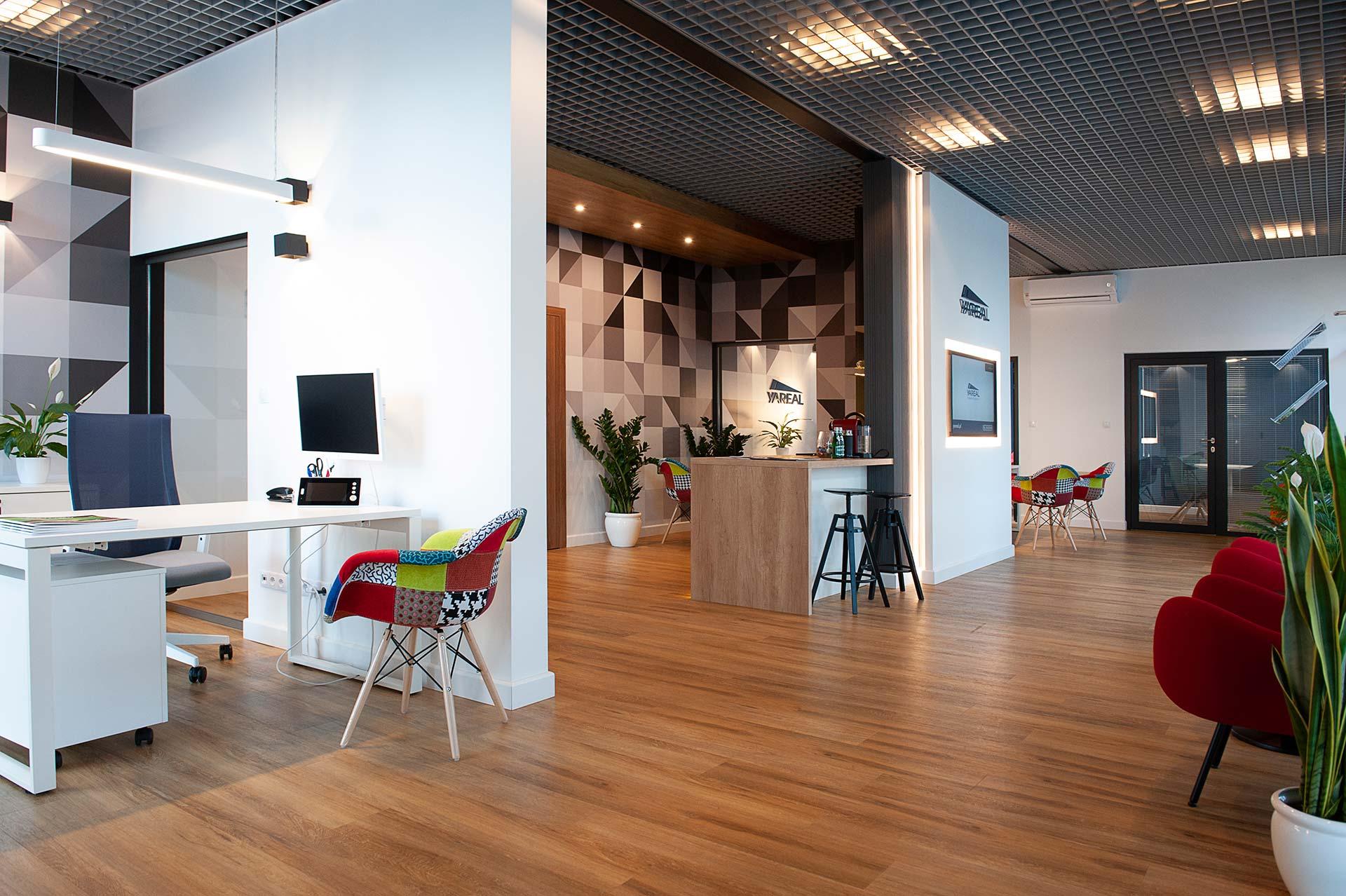 Biuro Sprzedaży dla inwestycji Pozytywny Mokotów, Yareal Polska