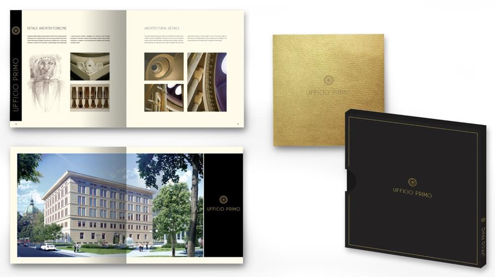 Folder reklamowy biurowca Ufficio Primo