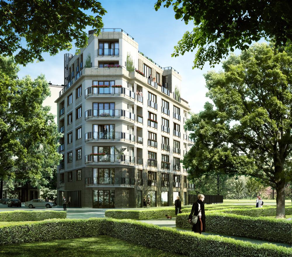 Wizualizacja inwestycji Apartamenty Opara, Dom Development